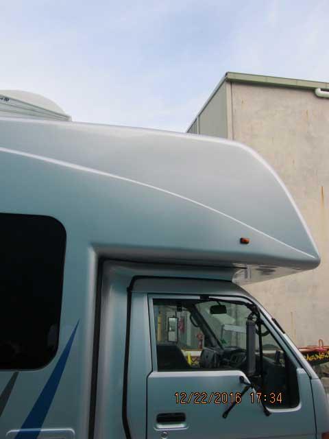 fibreglass gel coat repair caravan