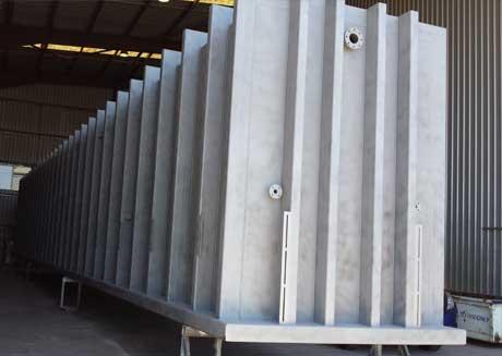 fibreglass fabricators brisbane Arnold Fibreglass Repairs work